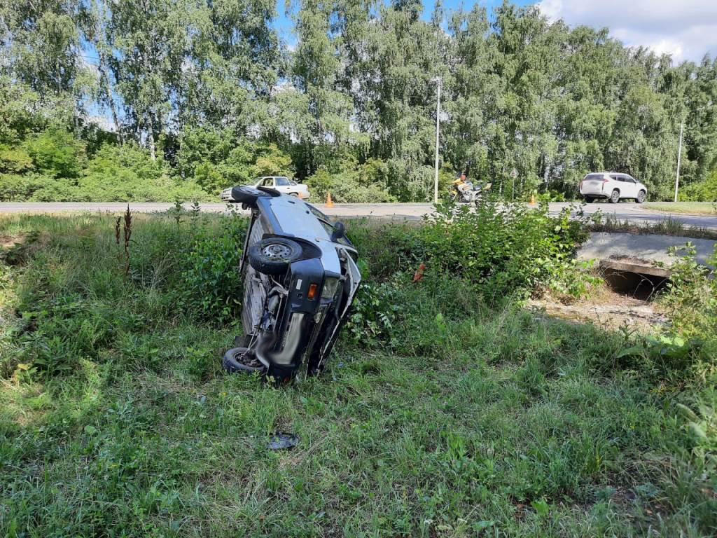 В Моршанском районе столкнулись «Ока» и мотоцикл
