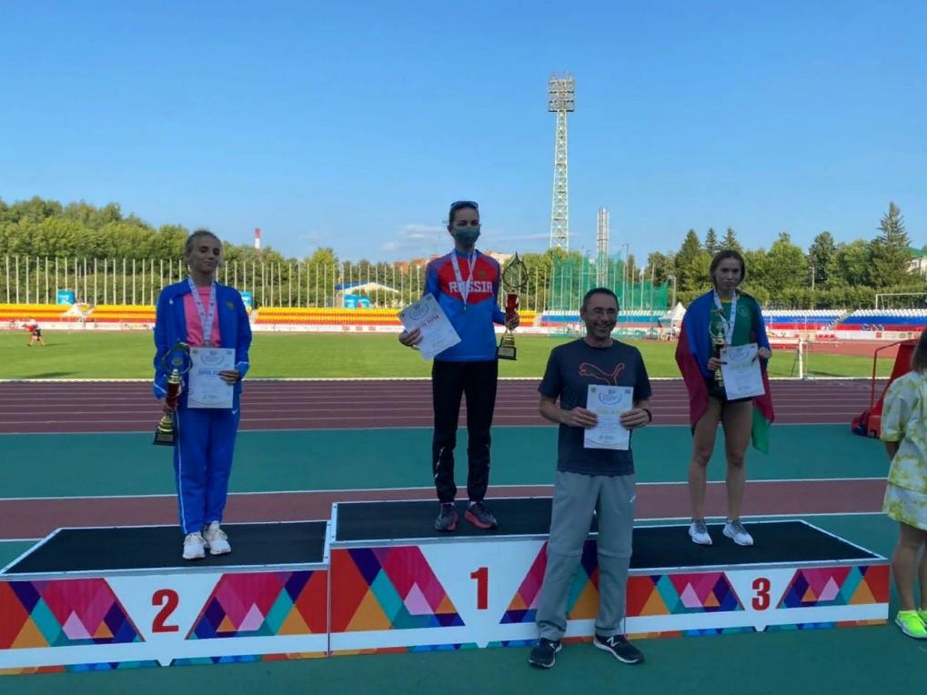 Спортсменка из Мичуринска завоевала серебро в V летней Спартакиаде
