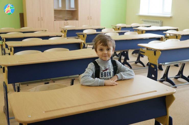 Кто идет в новую школу?