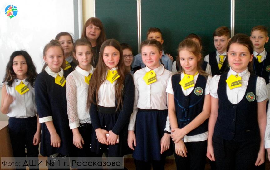 В Школе «Центр ИнТех» прозвучали песни, приближавшие Победу